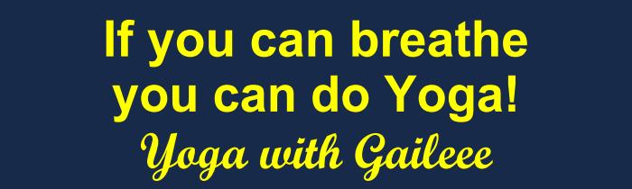 Private Yoga Teacher, Gail Pickens-Barger, 409-727-3177