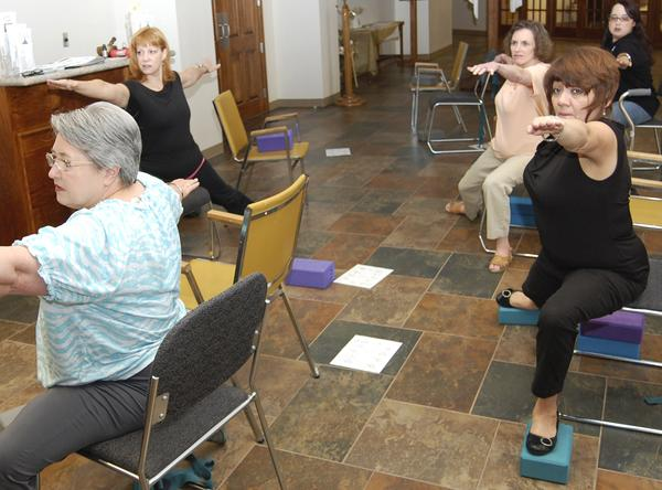 Yoga brings unlikely yogis – Port Arthur News, September2011