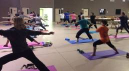 Monday Beginners Yoga Participants. Love them!