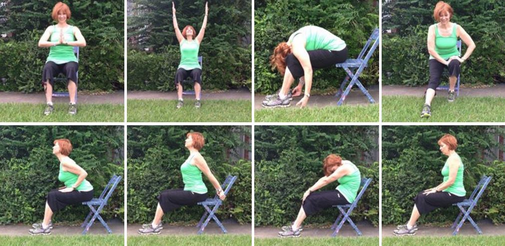 Difficult with mobility?  Chair Yoga may be a good option for you!
