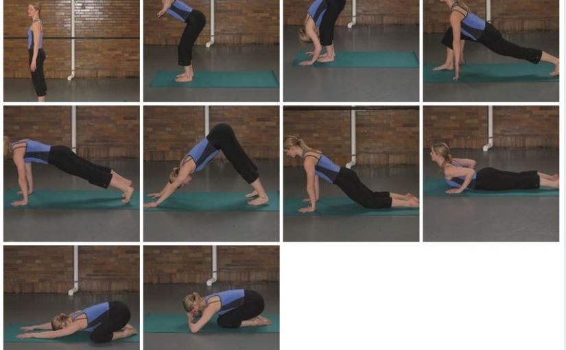 Modified Sun Salutes for  Yoga in Nederland,Texas