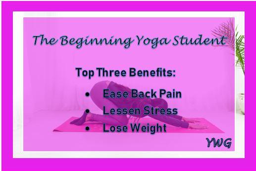 Top Three Yoga Benefits