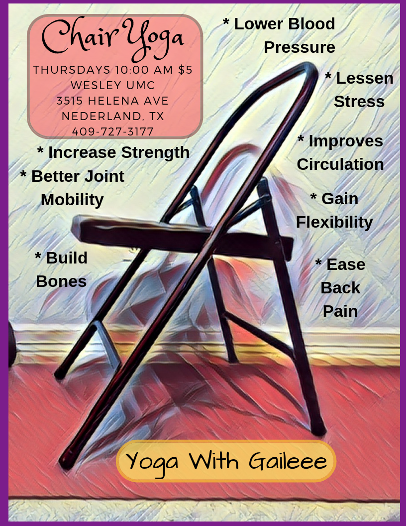 Chair Yoga with Gail Pickens-Barger