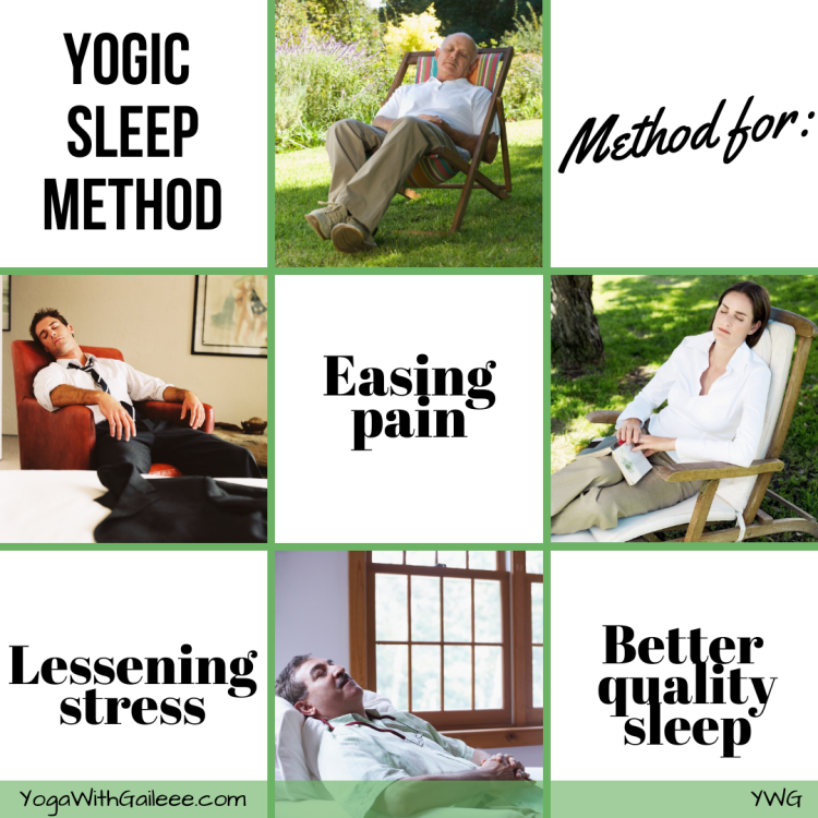 Yoga Sleep, Ease Stress, Less Pain, & Better Quality Sleep
