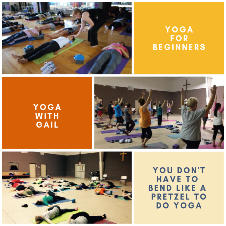 Yoga for Beginners, Yoga for those who don't like to get down on the floor - Chair Yoga Fitness at Wesley UMC in Nederland, Texas