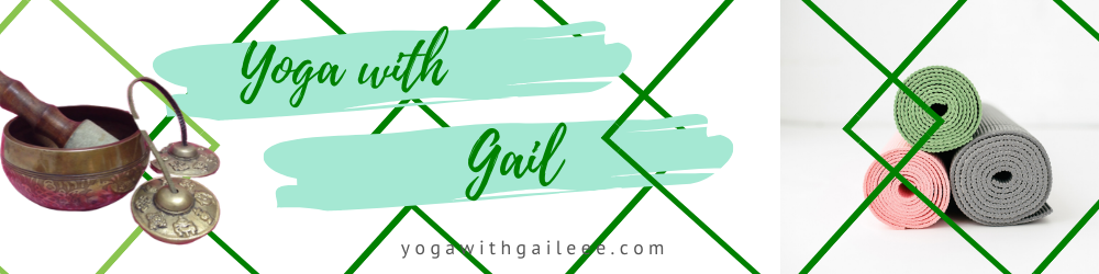 Yoga with Gail Logo Chair Yoga - ease back pain - lessen stress - better sleep - yoga near me - Yoga With Gail