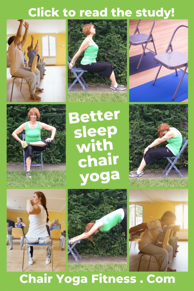 Sleep Better through Chair Yoga Better with Gail