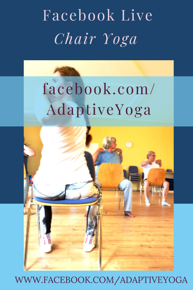 Chair Yoga Fitness with Gail Pickens-Barger, Adaptive Chair Yoga Teacher