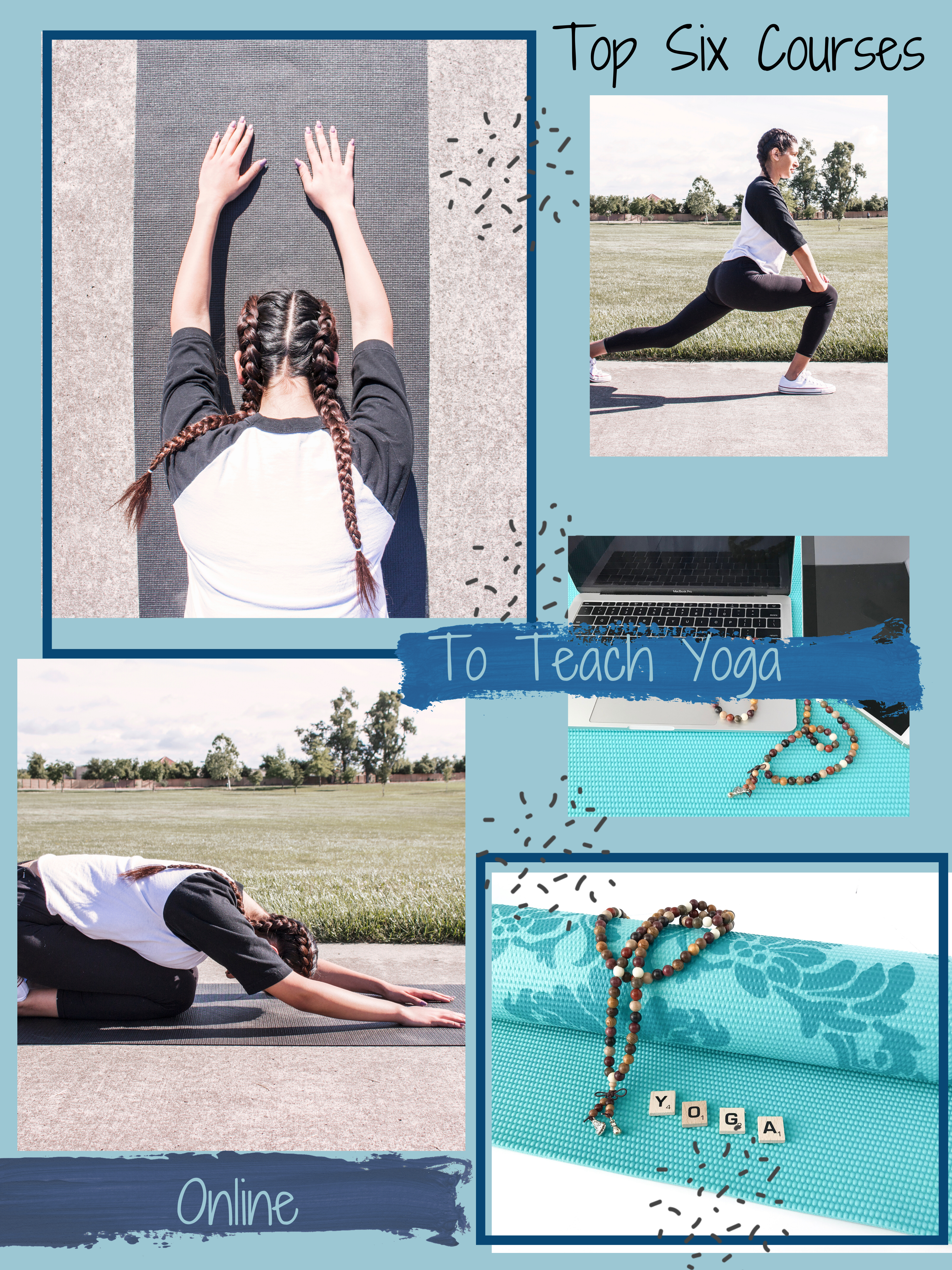 Gail's top 6 courses to get your Yoga Classes Online!