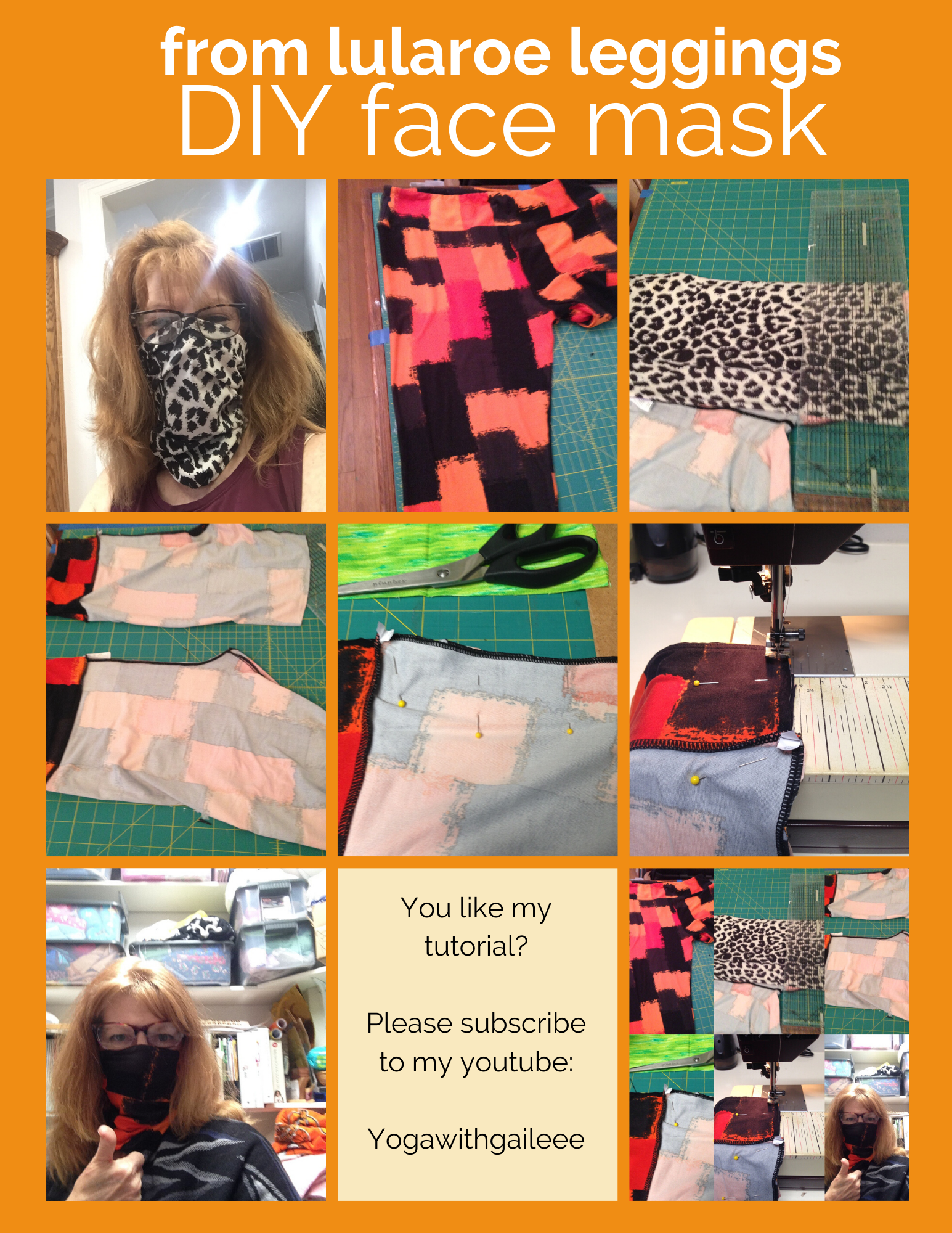 Sew your own Buff or Gator aka Dust Face Mask – Top 7 Tutorials