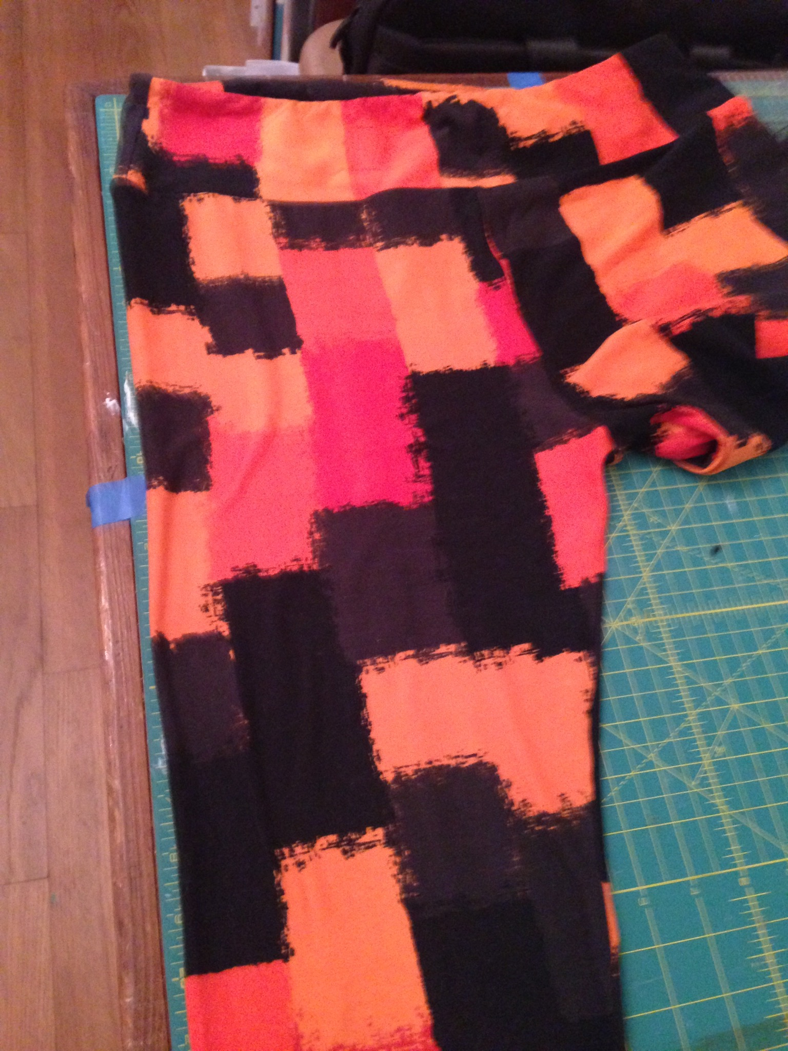 OSU colors for my LuLaRoe Leggings.  Go Pokes!
