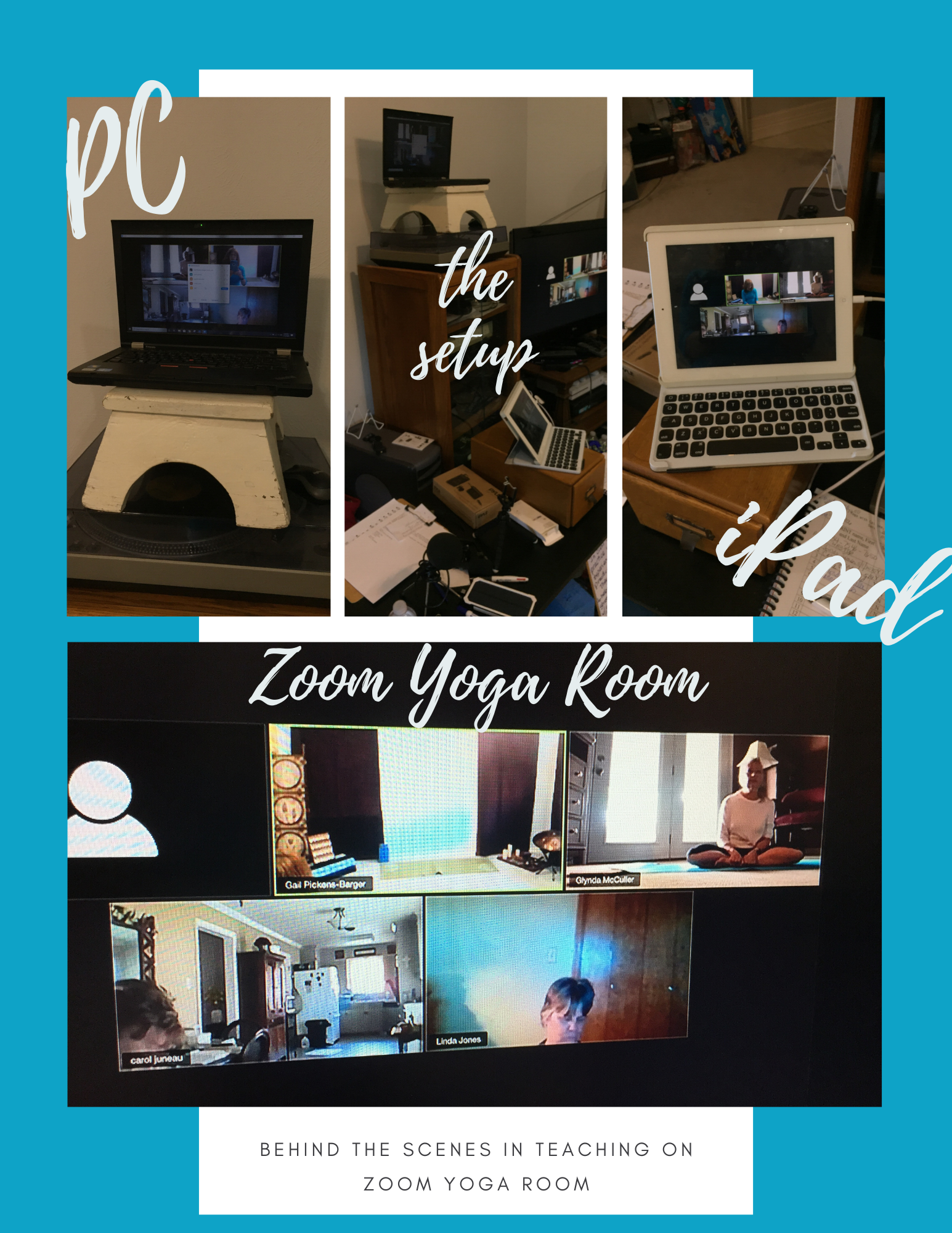 Online Yoga with Gail – Nederland, Texas.