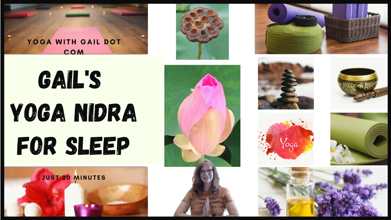 Shh, the secret to better sleep?  It's Yoga Nidra . . .