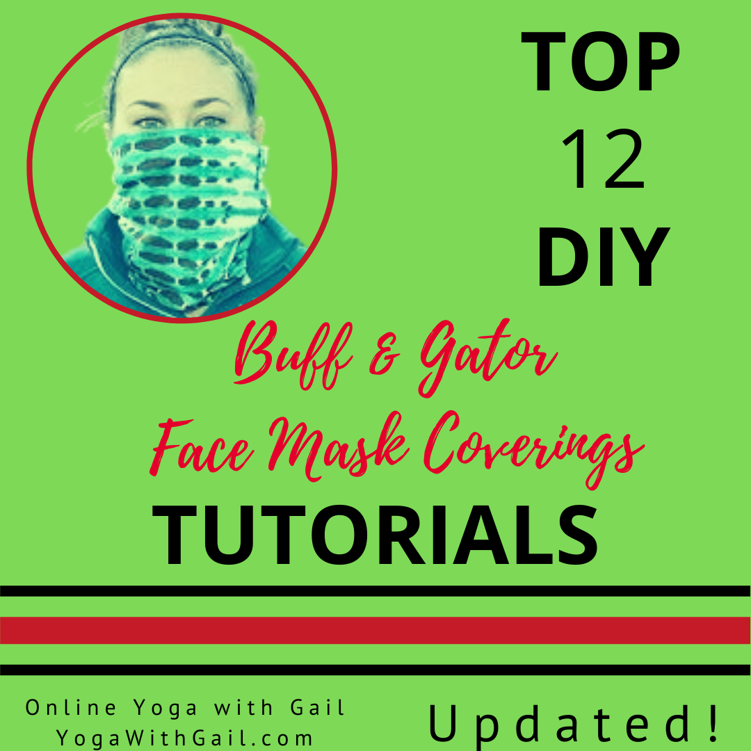 Top 7 DIY Buff, Gaiter, Gator, Face Mask Covering Tutorials