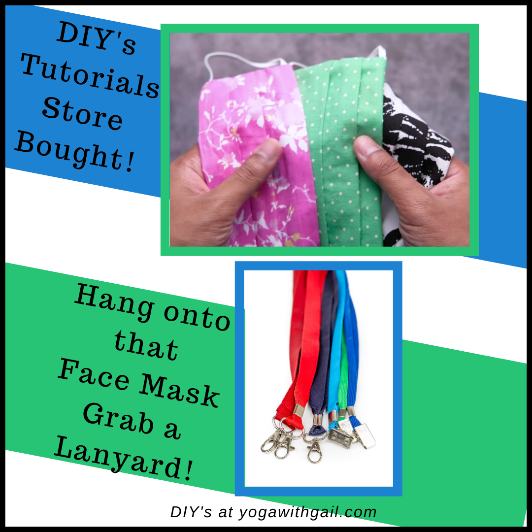 Top 8 DIY tutorials on making a face mask neck strap, chain, holder!