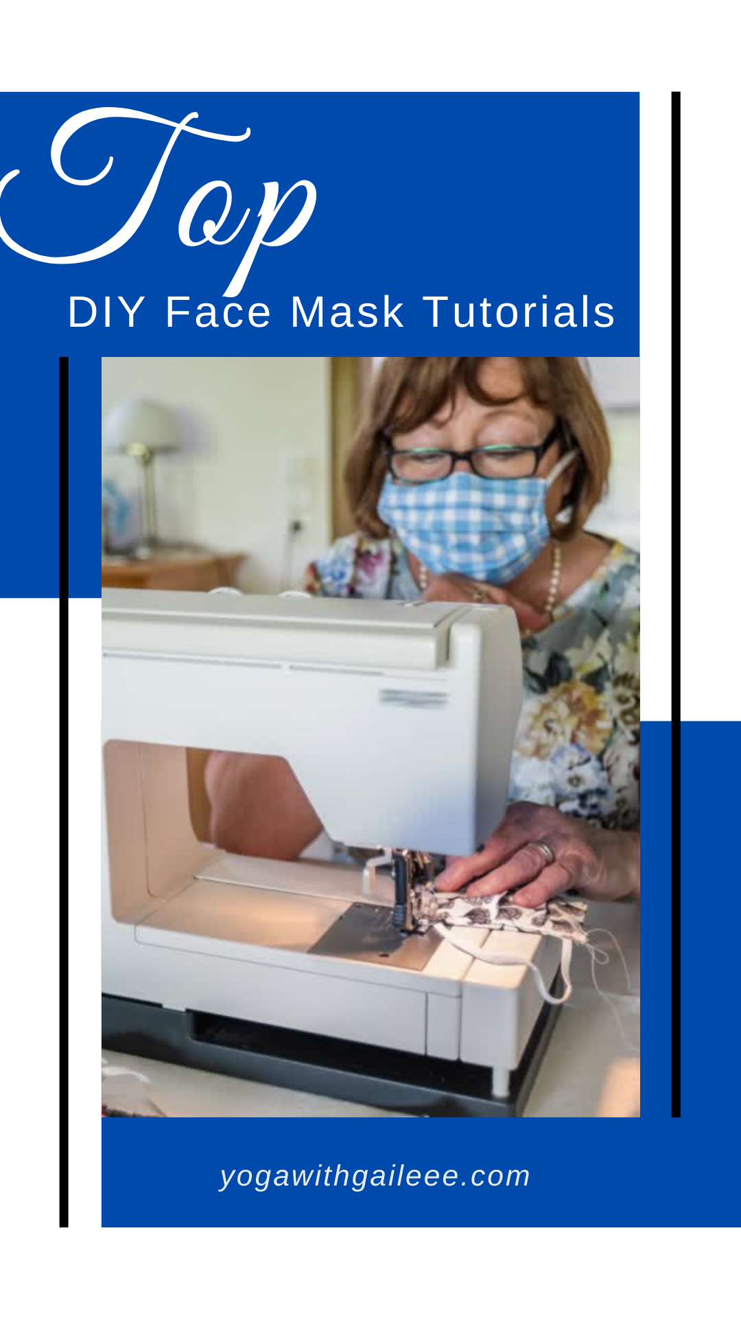 Top DIY Face Mask Covering Tutorial out there on the web!