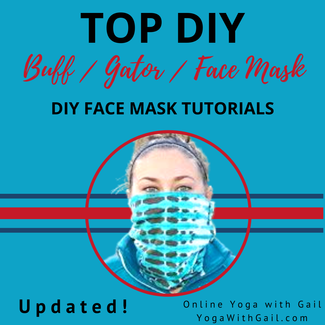 Updated DIY Face Mask Coverings - Instructions for making your own face masks, gators or buffs