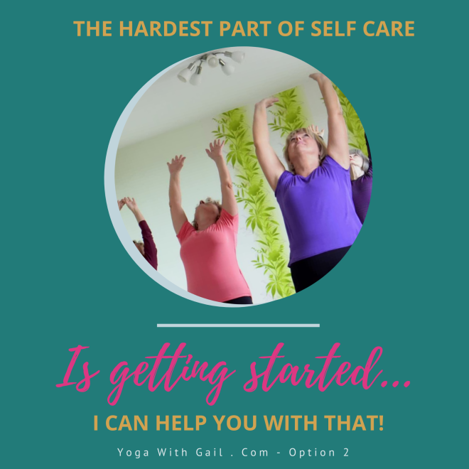 I can get you started on discovering how yoga can help you with your issues! Book a 20 minute phone call with Gail!