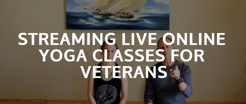 Streaming Live Online Yoga Classes for Veterans