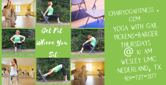 Get Fit Where You Sit - Chair Yoga Fitness