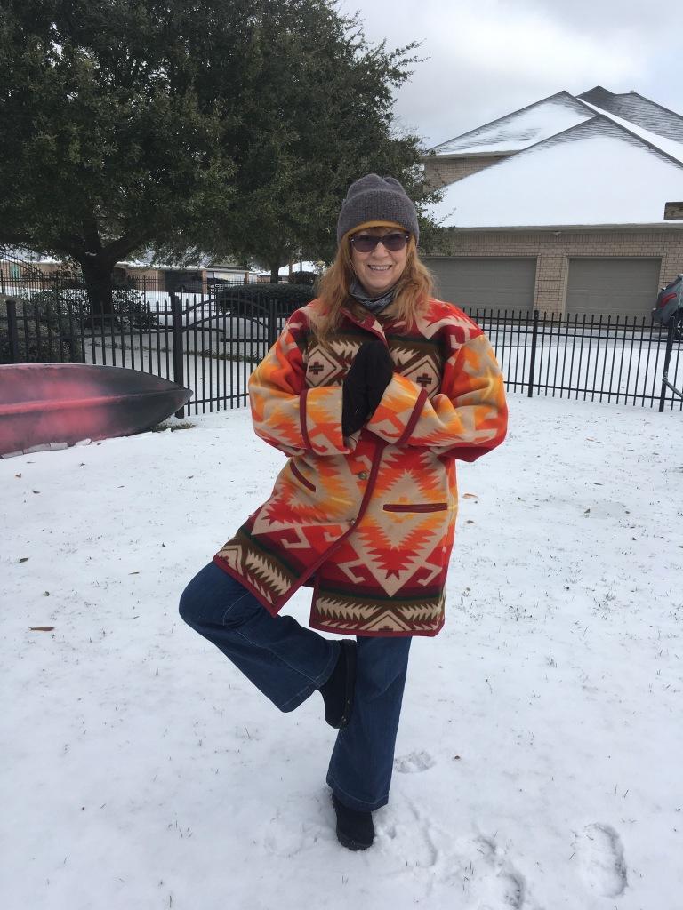 Snow Yoga #snowga