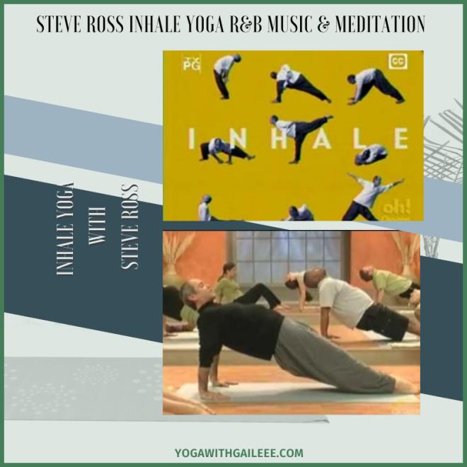 Steve Ross Inhale TV Yoga Music Playlists