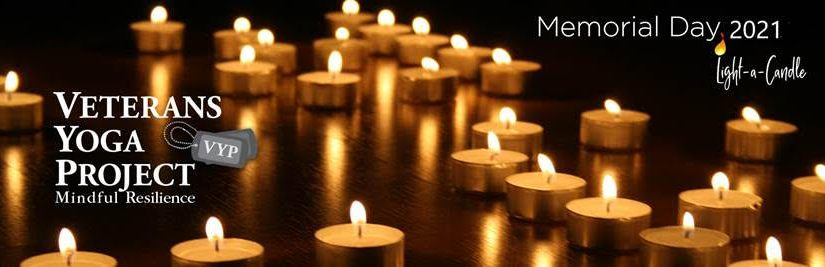 Light a candle – donation yoga class benefitting the Veterans YogaProject